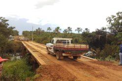 Ponte sobre o Rio das Mortes é liberada para tráfego de veículos