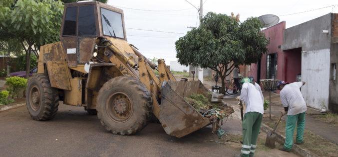 Mutirão de limpeza será realizado nos Jardins Campo Verde I, II e III na próxima semana