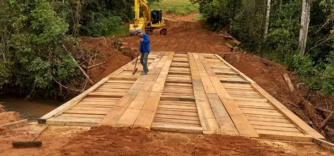 SMOV conclui reconstrução de ponte na Serrinha