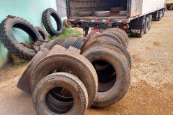 SEDAM/CV recolhe 22 toneladas de pneus velhos