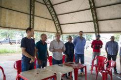 Deputado Wilson Santos anuncia pavimentação para o Santo Antônio da Fartura
