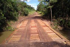 Ponte é concluída na comunidade Bigorna