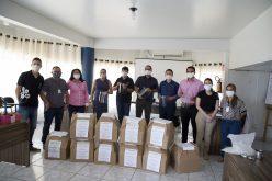 IFMT doa EPI´s à Secretaria de Saúde de Campo Verde