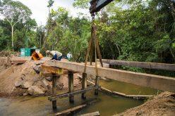 Prefeitura de Campo Verde reconstrói ponte na região do Bigorna