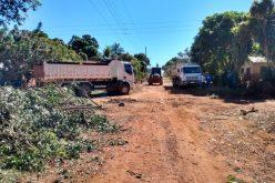 Prefeitura realiza mutirão de limpeza e manutenção na comunidade Mata Grande