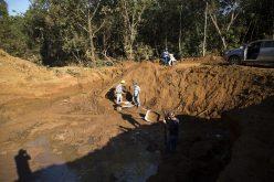 Galeria começa a ser construída no Córrego Ponte Falsa