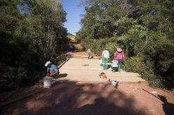 Ponte sobre o rio Roncador tem reforma concluída