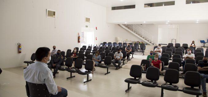 Em reunião com empresários, secretários municipais pedem colaboração no cumprimento das normas de controle ao novo coronavírus em Campo Verde