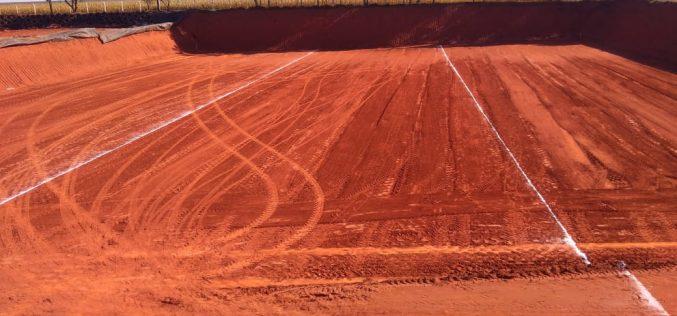 Escavação de nova trincheira é concluída no Aterro Sanitário
