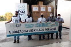 JBS doa EPI´s à Secretaria de Saúde de Campo Verde