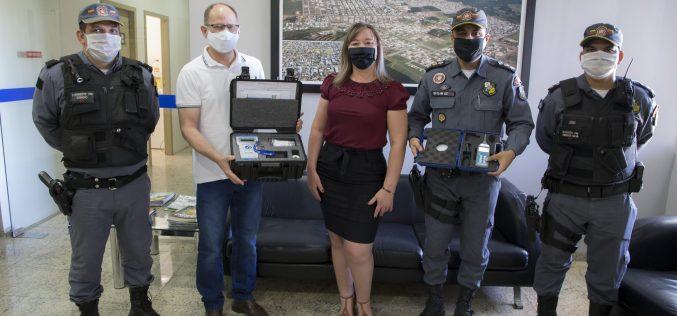 PM de Campo Verde recebe equipamentos repassados pelo Município