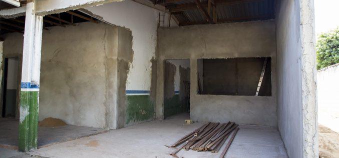 Prefeitura investe na reforma da Escola Municipal Dona Sabina Lazarin Prati