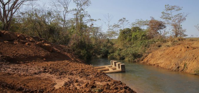 Construção de ponte é retomada no Assentamento 4 de Outubro