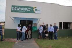 Farmácia Municipal Descentralizada vai facilitar o acesso da população a medicamentos