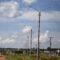 Superpostes começam a ser instalados na BR-070 entre a cidade e o Distrito Industrial II
